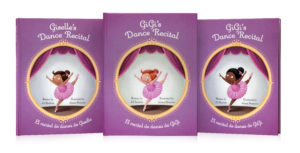 Dance Recital, a bilingual personalzed children's book from Snowflake Stories