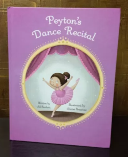 Peyton's Momma features Dance Recital Personalized Children's Book by Snowflake Stories