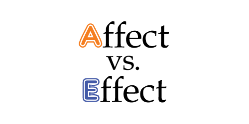 Affect vs. Effect Post on How to remember the difference between