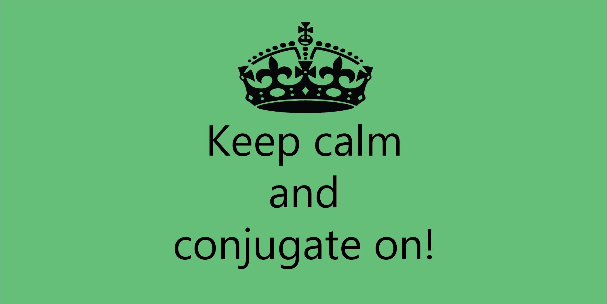 Conjugating-verbs